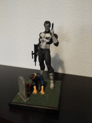 The punisher El castigador Diamond Marvel origins