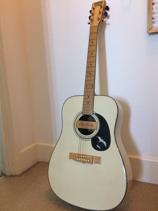 Tanglewood acoustic guitar and case