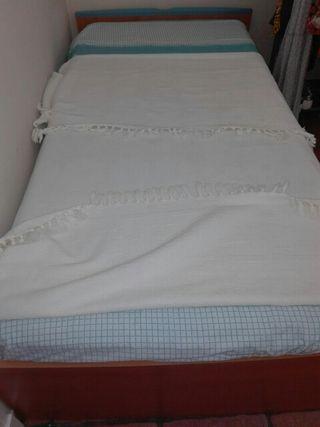 cama nido niñ@ y colchón 0,90