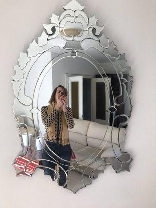 Espejo veneciano , impecable