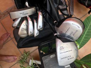Equipo básico de golf para dos personas