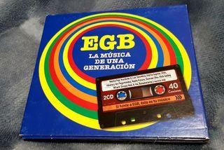EGB LA MÚSICA DE UNA GENERACION (Vol. AZUL)