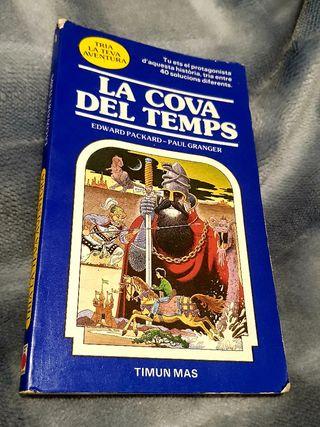 """LIBRO"""" LA COVA DEL TEMPS"""""""