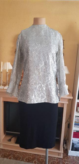 Falda y blusa de cóctel o fiesta bodas eventos.