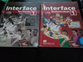 Interface Workbook 1 y Student's Book 1