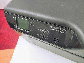 impresora scanner Hp Deskjet 3070A
