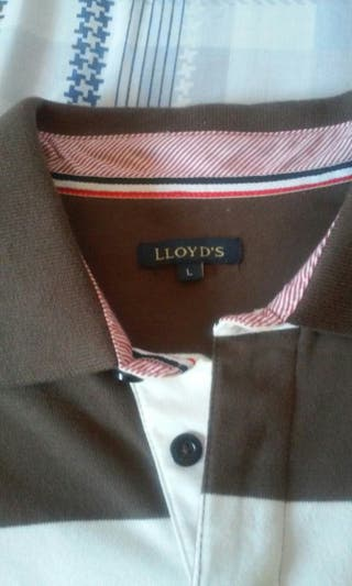 Polo Lloyd's marron