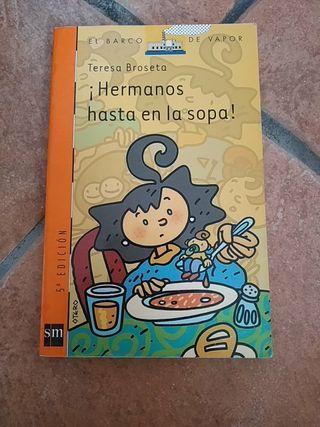 Libro ¡Hermanos hasta en la sopa!