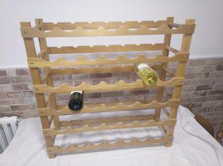 2 Botelleros de madera
