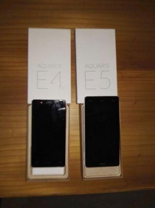 vendo dos móviles BQ