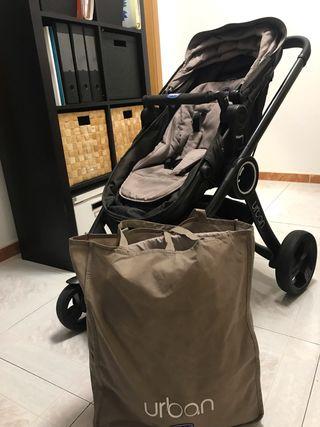 Carro de bebé Chicco Urban + patinete
