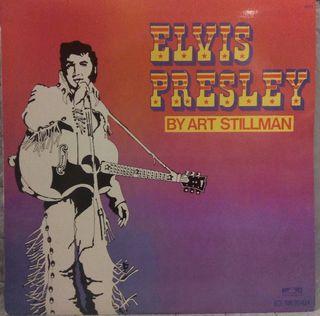 Disco vinilo Elvis Presley By Art Stillman