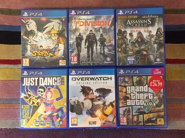 PS4 Games X6 (18+)