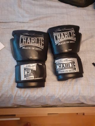 guantes de gel charlie