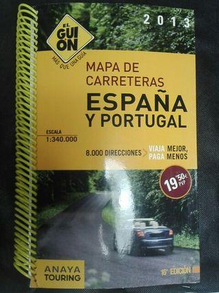 Guia carreteras España y Portugal