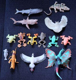 Muñecos silicona kiosko