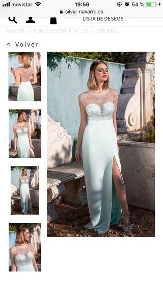 Vestido de Sílvia Navarro/ Nuevo sin esteenar