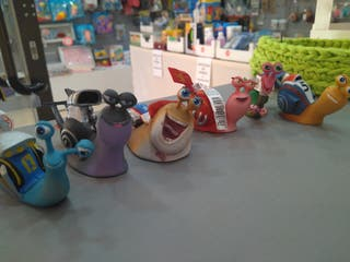 figuras Comansi los caracoles de turbo de