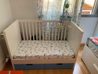 Vendo cama cuna Stuva (Ikea)