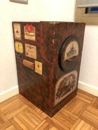Mueble botellero vintage