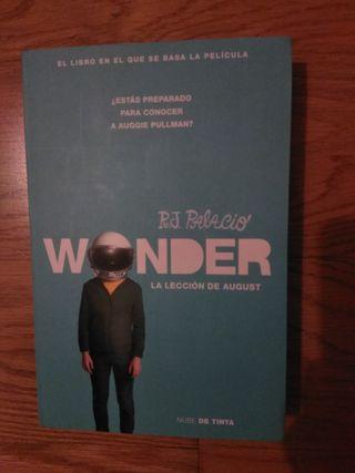 Wonder, la novela.