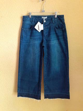 Pantalones De La Vaqueros En Provincia Rectos Segunda Mano PXwOkTZiu