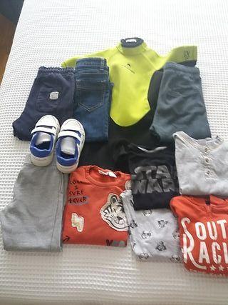 Lote ropa niño 3-4años