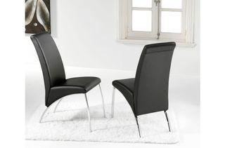 Pack 2 sillas de estilo moderno