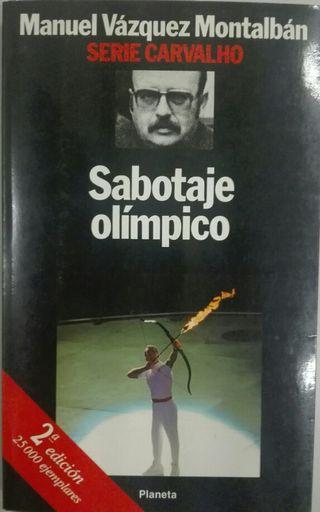 Sabotaje olímpico. Manuel Vázquez Montalbán.