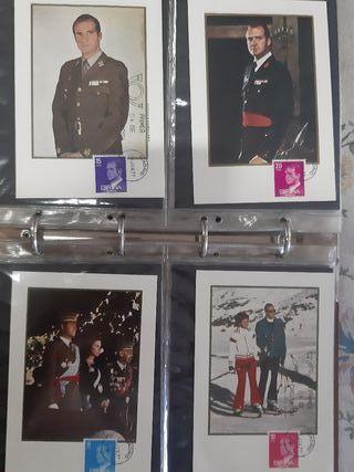 tarjetas máximas primer día circulación fdc