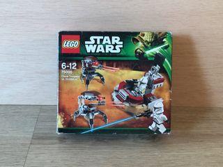 LEGO Star Wars clones vs droidekas