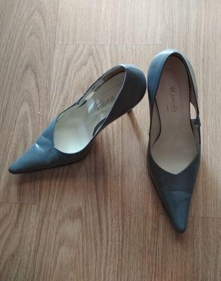 Zapatos para mujer gris