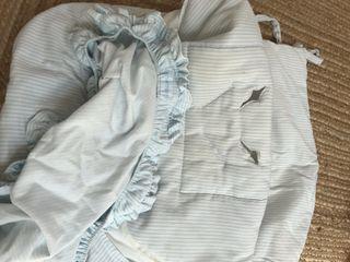 Saco y capota para huevito bebé