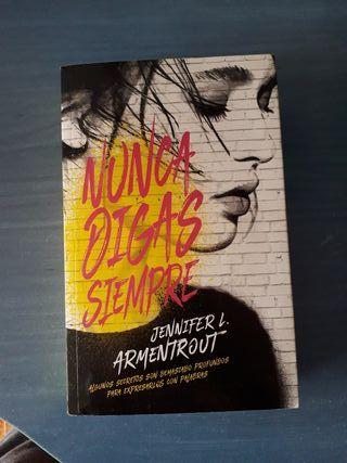 """Novela """"Nunca digas siempre"""""""