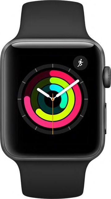 Apple Watch 3 color negro