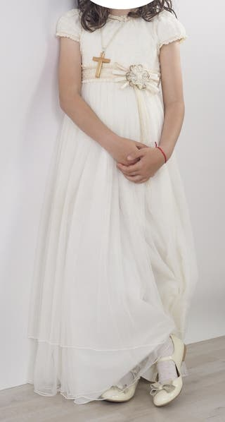 Vestido comunión Rosa Clara