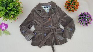 PVP 150€ Donna Karan New York abrigo niña 6 AÑOS