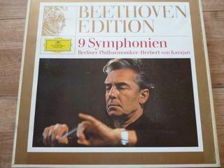 Herbert Von Karajan 9 vinilos Beethoven
