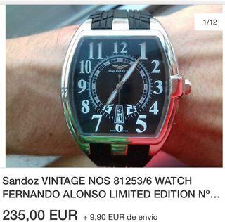 c2641efb698c Reloj Fernando Alonso de segunda mano en la provincia de Barcelona ...