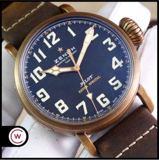ZENITH Pilot Type 20 Extra Special Bronze FULL SET