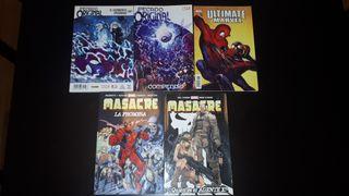 Pack libros Marvel