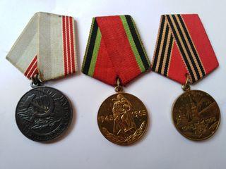 3 medallas rusas, URSS