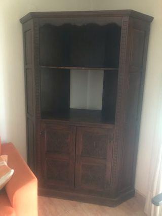Mueble antiguos de segunda mano en alicante en wallapop - Mueble rinconera ...