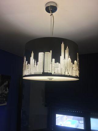 Lampara casa new york