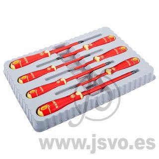 Bahco B220.007 Set 7 destornilladores aislados