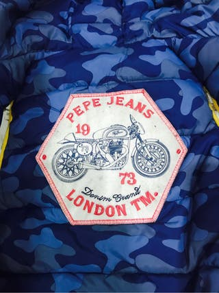 Chaleco plumífero reversible Pepe jeans