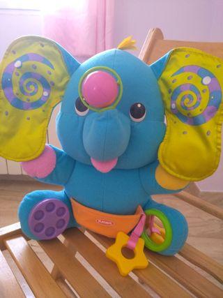 Peluche Elefantito azul de Plaskool