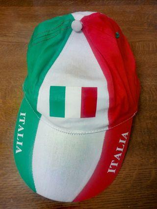 Antigua gorra Italia