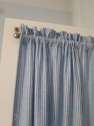 Visillos y gusanillos para 3 puertas armario