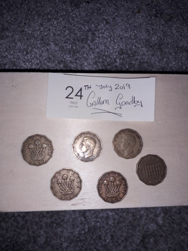Old English Coins (Ask for Prices)